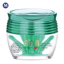 Wholesale Aloe Vera Hydrating Cream Moisturizing Facial Cream Acne Pimples Treatment Reduce Scars Repair Skin Anti Wrinkle Whitening Cream