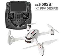 2017 gps quadcopter fpv Hubsan X4 H502S 5.8G RC Drone FPV avec caméra HD 720P GPS Altitude One Key Return Mode sans tête RC Quadcopter Positionnement automatique + B peu coûteux gps quadcopter fpv