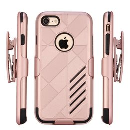 Wholesale Kickstand iPhone Case For iPhone s Plus Alcatel Samsung On ZTE Max Z981 LG K7 Stylus Belt Clip Full Body Cover Cases SBR