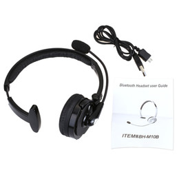 Wholesale BH M10B Over The Head Wireless Bluetooth Headphone Noise Canceling Hands free Headset with Mic for SmartPhone Laptop Desktop PC