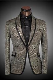 2017 trajes de la astilla 2017 nueva marca de fábrica Ropa de los hombres de Lastest de la chaqueta de la astilla de oro Scale Diseño Slim Fit Suits Tuxedo Wedding Party Blazer tamaño XS-6XL trajes de la astilla en oferta