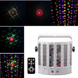 Wholesale Sound Active LED Laser Beam RGBW DMX CH Stage Light Disco DJ Party Effect Lighting