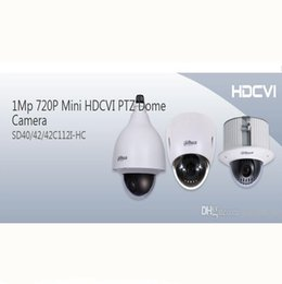 Alta calidad 720p Dahua mini 12X ZoomHDCVI PTZ Dome cámara DWDR con alarma SD40112I-HC para el centro comercial desde ptz 12x fabricantes