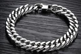 Wholesale Not allergic tide coarse ore domineering titanium steel bracelet Long lasting color preserving bracelet