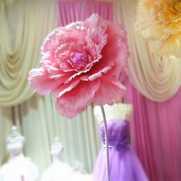 Large silk artificial flower roses wedding background decoration Home Decorative flower  wedding welcome area layout