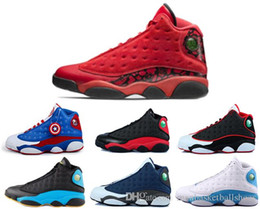 Wholesale air retro flints man basketball shoes History of Flight black cat Chicago sneaker bred sport shoes CP3 PE Home discount shoes
