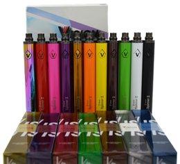 Torsion ii en Ligne-Vision de qualité supérieure Spinner II 1650mAh Ego twist 3.3-4.8V vision spinner 2 batterie de tension variable pour atomiseurs de cigarettes électroniques DHL