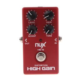 Efectos de modulación en Línea-NUX MOD Core Pedal de Efecto de Guitarra 8 Efectos de Modulación Preset Tone Lock Pedal Guitarra de Alta Calidad