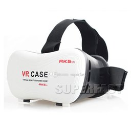 Newest VR Case RK5th Mobile Virtual Reality Glasses 3D Glasses 3D Game For Android Mobile Phone For Iphone IOS Retail Package