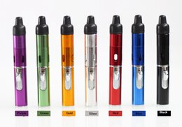 Wholesale Best quality Colors Click N Vape Sneak A Vape Herbal Vaporizer smoking pipe Trouch Flame lighter With Built in Wind Proof Torch Lighter