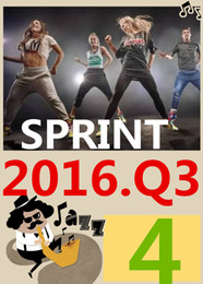 ON Top Free Shipping 2016.7 Q3 New Routine SPRINT 04 HIIT 30 Minutes Exercise Fitness Indoor Bicycle SPRINT04 DVD video + CD music