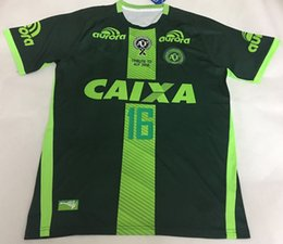 Wholesale 2016 Chapecoense SC soccer jerseys Campeonato Brasileiro Serie A top thai quality football shirts men shirts