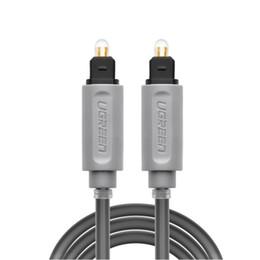 Câbles xbox av en Ligne-Câble audio optique numérique Toslink plaqué or 1m 2m 3m Câble coaxial SPDIF pour lecteur DVD de DVD Blu-ray Xbox 360 PS3 AV