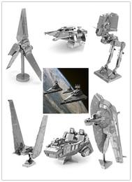 Wholesale D Metal model puzzle toys Star wars metal Building Kits d puzzle diy kit puzzles for children Toys