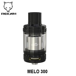 Wholesale Original Eleaf MELO Atomizer ml ml Consists of six coils W Huge Vapor Production Top Fill System e cig tank