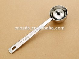 Chic Ice Cream Mash Spoon Stainless Steel Strong Handle With Hanging Hole Scoop