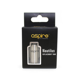 """Original Aspire Nautilus Mini Replacement Tank with """"T"""" Window Sleeve Best Customizer Replacement Tank Stock Offering Free Shipping"""