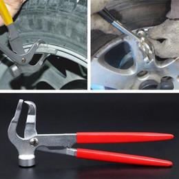 Herramienta de la reparación del equilibrador de la rueda del coche del vehículo de los alicates / del martillo del peso de la rueda libera el envío desde herramientas equilibrador proveedores