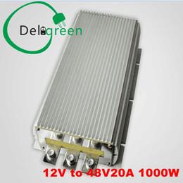 Dc convertisseur 12v 48v en Ligne-12V à 48V 20A 1000W DC DC Convertisseur Régulateur Car Step upboost module alimentation alimentation livraison gratuite