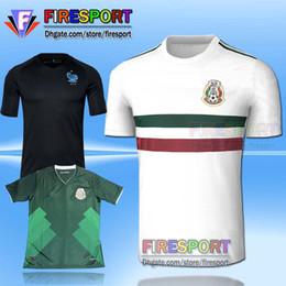 Mexico national 2017 CHICHARITO home green away white G.DOS SANTOS R.MARQUEZ C VELA thai quality Mexico soccer Jersey 17 18 football shirt