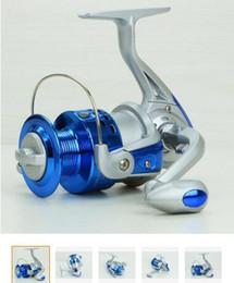 SA1000-7000 Reel Fishing sea rod round round plastic head silver blue