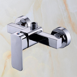 Wholesale Bathroom Shower Faucet shower mixer accessories Shower Faucets Brass material Cold hot water control Modern Brand