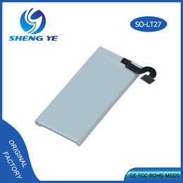 wholesaler high quality Original 1265mah Li-ion Mobile Phone Battery For Sony LT27