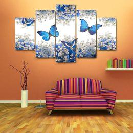 Скидка фотографии панели Современные стены искусства Картина 5 стеновая Картины Пейзаж Холст Картина Art Home Decor Unframed Картины маслом Холст JC0369