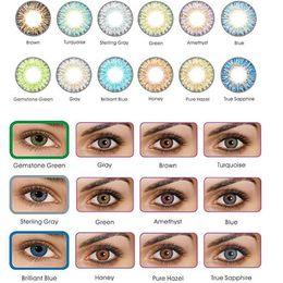 Wholesale 13 colors Fresh Colorblend Tones Contact Lenses pairs Contact Lens Color Contact Colors EYE