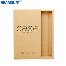 50pcs Kraft Drawer Paper Box Gift for Mobile phone Case Package phone Shell BOX packing box for iPhone7 7p Retail packaging