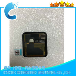Regarder des pièces de réparation en Ligne-Écran LCD d'origine pour Apple Watch Écran tactile de 38 mm Ensemble de numériseur de panneau Pièces de réparation de sport Série 1 Général 1