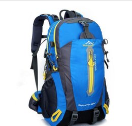 40L backpack nylon waterproof camping multifunctional high quality men travel bags