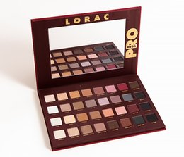 LORAC Mega Pro Palette 32 Colors Waterproof Matte Eyeshadow Palette Nude SMOKY Eyeshadow Palette Bset Eye Makeup Cosmetic