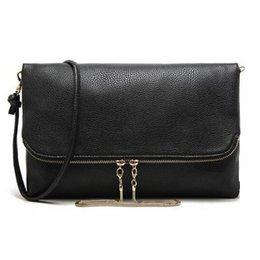Acheter en ligne Sac bolsas cuir corps croix-Grossiste-Casual femmes sac messager sac à main en cuir sacs à main d'embrayage pour les femmes à travers le corps sac à bandoulière sac femmes sac à main noir
