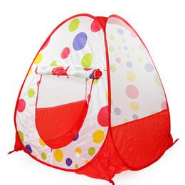 Venta al por mayor de alta calidad de los niños juegan tienda de campaña Ocean Ball jugar interior de la tienda de campaña juegan juguetes regalo de cumpleaños para los niños high tents promotion desde altos tiendas de campaña proveedores
