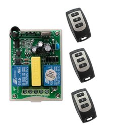 Wholesale AC V CH RF Wireless Remote Control Receiver Transmitter tubular motor garage door projection screen button