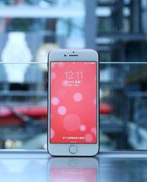 Wholesale Goophone i7 inch smart fingerprint unlock phone red custom version of the waterproof quad core G network Andrews high definition mobile