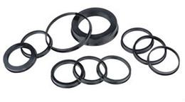 74.1-72.6mm 20pcs Black Plastic Wheel Hub Centric Ring Custom Size Available Wheel Rim Parts Accessories