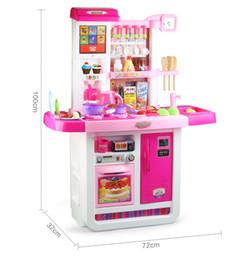 pantalla tctil los nios de agua grandes tienen una cocina de la familia conjunto de juguetes de cocina cocinar juguetes de simulacin de vajilla y