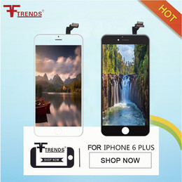 Grade A +++ for iPhone 6 6Plus LCD Display & Touch Digitizer Screen with Frame Complete Full Assembly Glass Panel 100% Tested