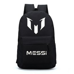Wholesale Barcelona Messi backpacks waterproof jansport backpack men women travel bags school bags mochila for teenage boys girls kids