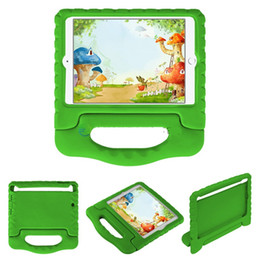 3D Cute Portable kids Safe EVA Foam ShockProof Stand Case Cover For iPad PRO 9.7 2017 2 3 4 air 1 2 Mini 4 case For Galaxy TAB 20PCS LOT