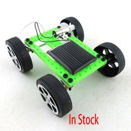 Mini Solar Powered Toy DIY Car Kit Children Educational Gadget Hobby Funny Worldwide DHL Free XL-T03