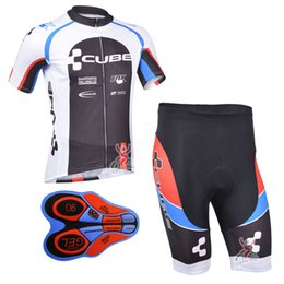 2017 New CUBE team pro Cycling jersey bib shorts set fluor summer Sportswear Mountain Bike clothing Ropa Ciclismo MTB Bicycle Wear DBA11