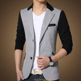 Pas de risque Shopping automne été Vêtements d'extérieur Manteaux Vestes Homme Blazers Man Costumes Mode Loisirs vêtements pour hommes, le charme des hommes. Grosses soldes à partir de boutiques de charme fabricateur