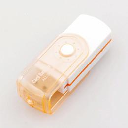 Tout en 1 USB 2.0 Multi Lecteur de carte mémoire Adaptateur Connecteur pour Micro SD MMC SDHC TF M2 Memory Stick MS Duo RS-MMC Livraison gratuite à partir de adaptateurs memory stick fabricateur