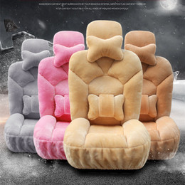 Winter Plush Seat Covers Warm car cover Plush car cushion + seat cover Female seat A+++++