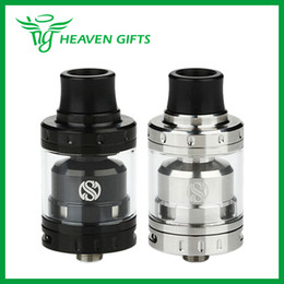 Atomiseurs gros à vendre-Vente en gros AUGVAPE Merlin Mini RTA Réservoir 2ml Simple / double enroulement de la plate-forme avec double flux d'air Merlin Mini Atomiseur Vaping RTA Tank
