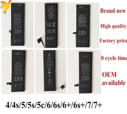 Wholesale Top quality Internal Built in Li ion Replacement battery for apple iphone S S S C G S Plus with Factory price