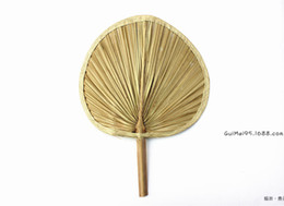 Wholesale Tuba High Quality Package Edge Palm Leaf Fan Natural Banana Leaf View Point Fan
